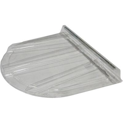 Wellcraft 75 In. x 46 In. Polycarbonate Window Well Flat Cover
