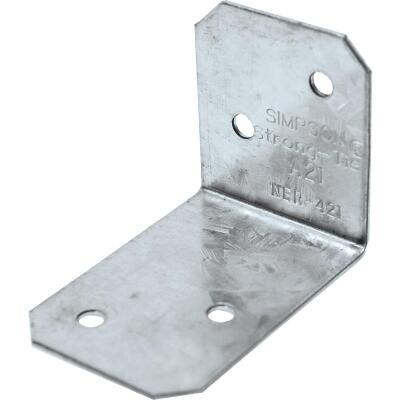 Simpson Strong-Tie 2 In. x 1-1/2 In. x 1-3/8 In. Galvanized Steel 18 ga Reinforcing Angle