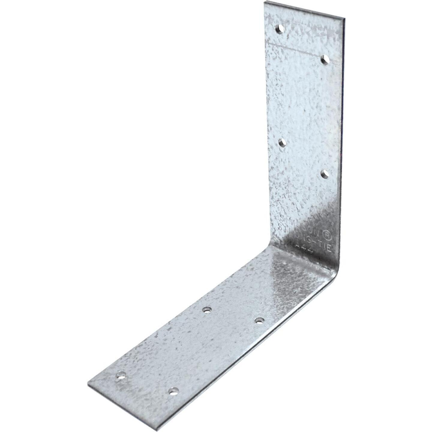 Simpson Strong-Tie 4-9/16 In. x 4-3/8 In. x 1-1/2 In. Galvanized Steel 12 ga Reinforcing Angle Image 1