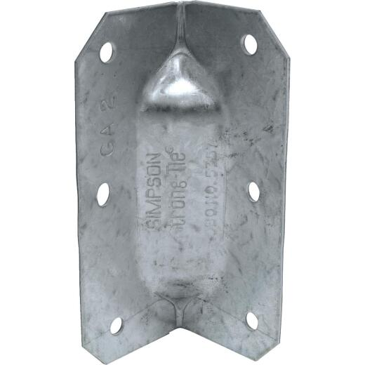 Simpson Strong-Tie 3-1/4 In. Galvanized Steel 18 ga Reinforcing Gusset Angle