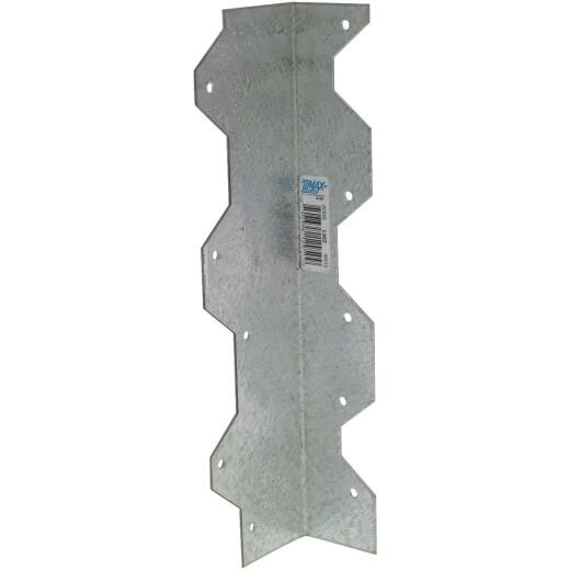 Simpson Strong-Tie ZMax 9 In. Galvanized Steel 16 ga Reinforcing L-Angle