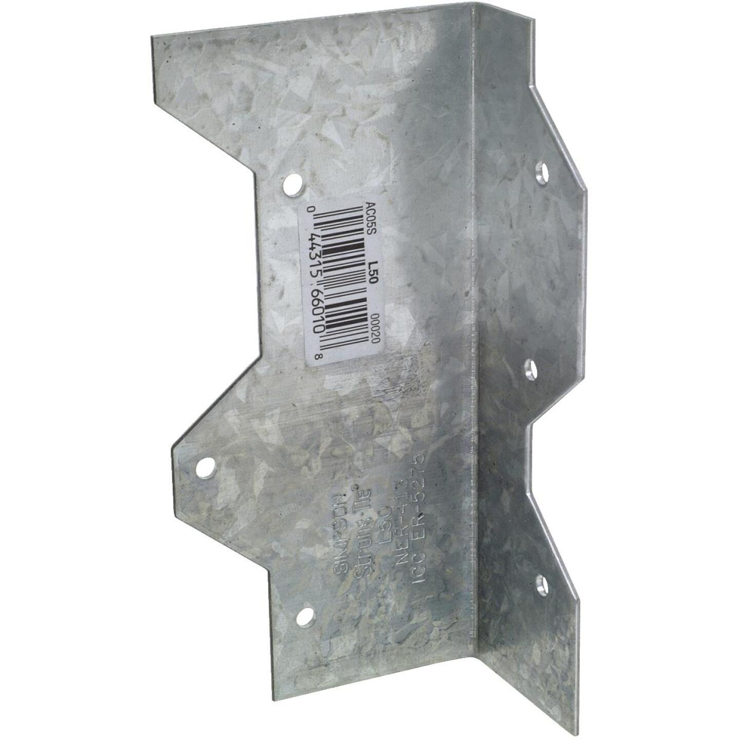 Simpson Strong-Tie 5 In. Galvanized Steel 16 ga Reinforcing L-Angle Image 1
