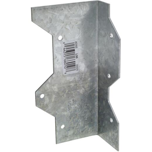 Simpson Strong-Tie 5 In. Galvanized Steel 16 ga Reinforcing L-Angle
