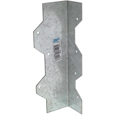 Simpson Strong-Tie ZMax 7 In. Galvanized Steel 16 ga Reinforcing L-Angle