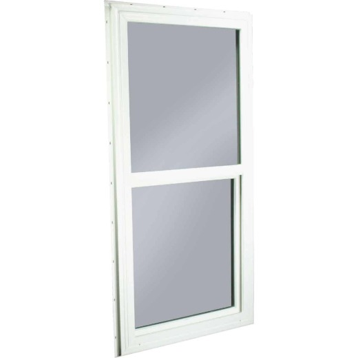 Northview 23-1/2 In. W. x 47-1/2 In. H. White PVC Traditional Single Glazed Single Hung Window