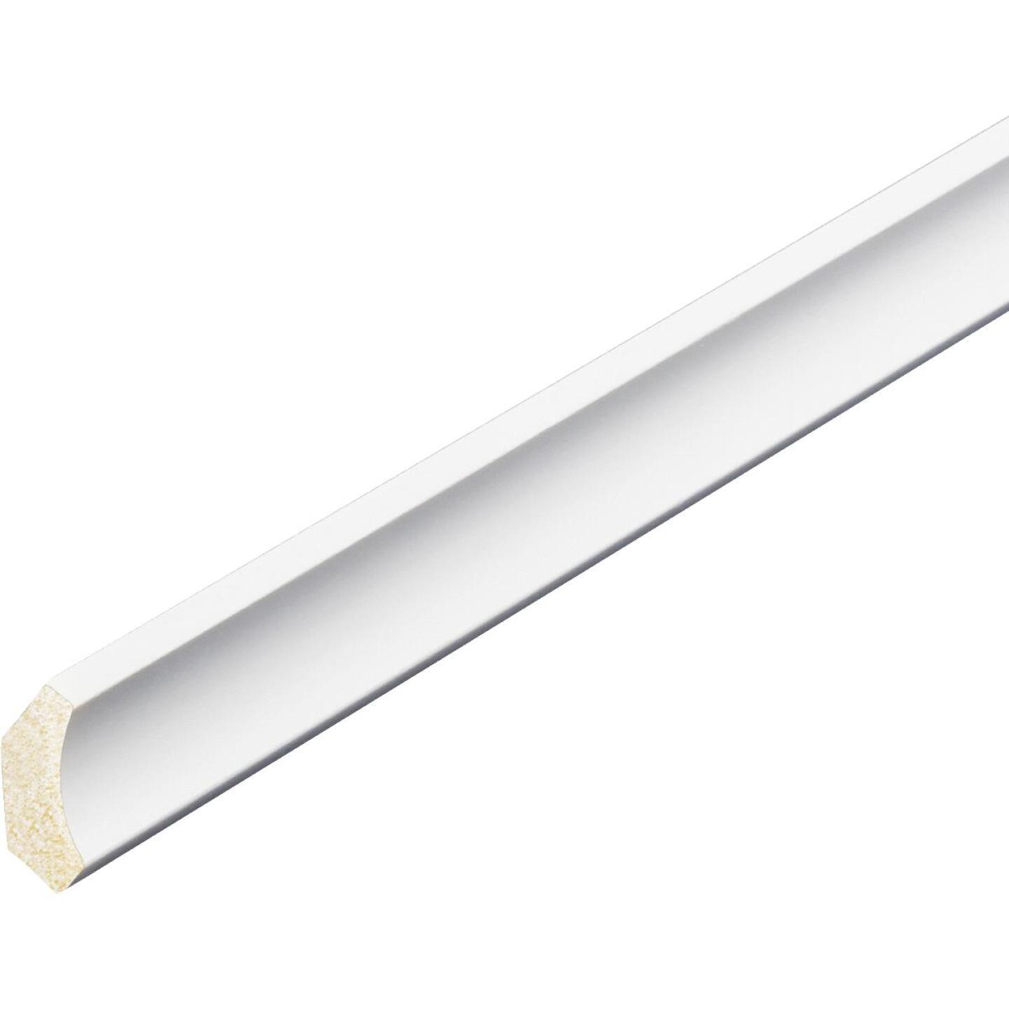 Inteplast Building Products 1/2 In. W. x 1-9/16 In. H. x 8 Ft. L. Crystal White Polystyrene Cove Molding Image 2