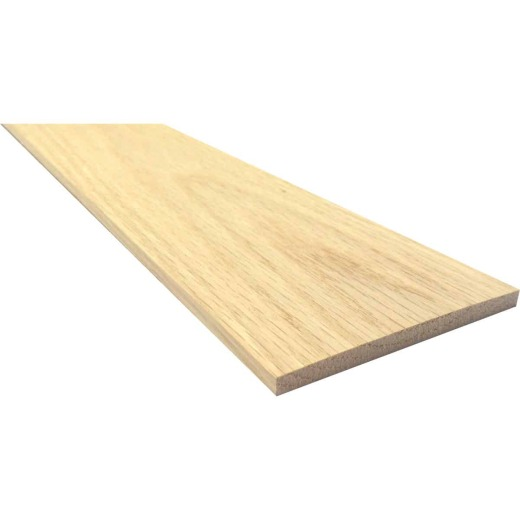 Waddell 1/4 In. x 6 In. x 2 Ft. Red Oak Board