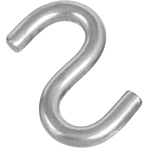 National 2 In. Stainless Steel Heavy Open S Hook (2 Ct.)