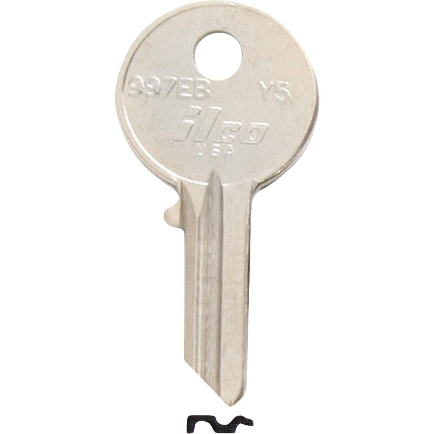 ILCO Yale Nickel Plated House Key, Y5 (10-Pack) Image 1