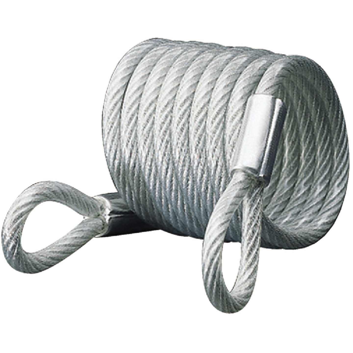 Master Lock 6 Ft. x 1/4 In. Self-Coiling Cable Image 1