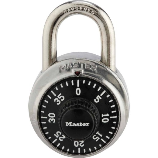 Master Lock 1-7/8 In. Stainless Steel Combination Padlock