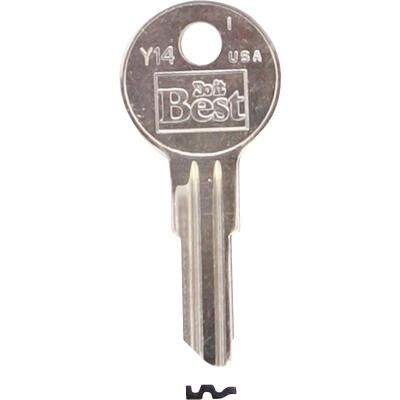Do it Best Yale Nickel Plated House Key, Y14 (10-Pack)