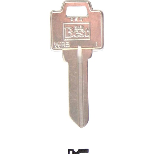Do it Best Weiser Nickel Plated House Key, WR5 (250-Pack)