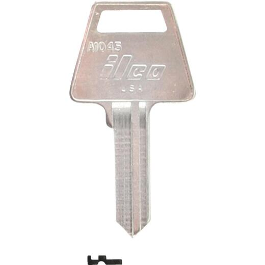 ILCO American Nickel Plated Padlock Key, A1045 (10-Pack)
