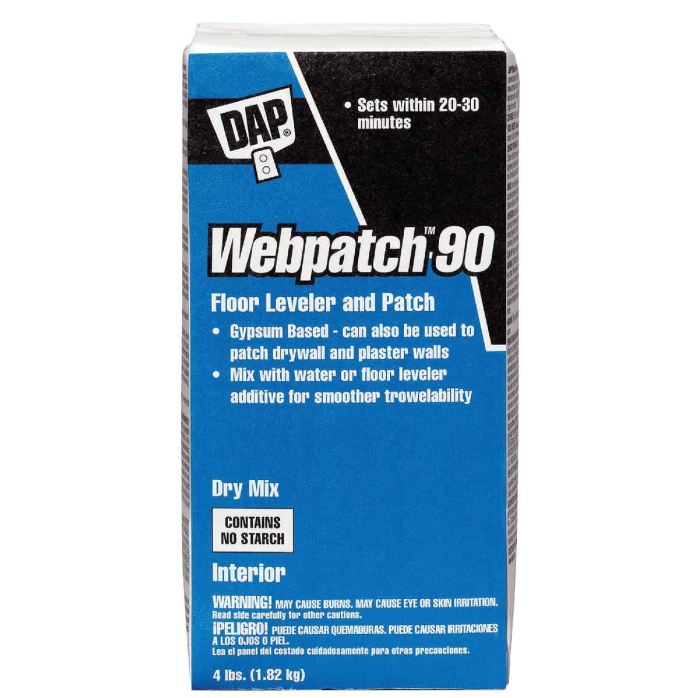 DAP Webpatch 90 Floor Leveler and Patch, Off White, 4 Lbs. Image 1