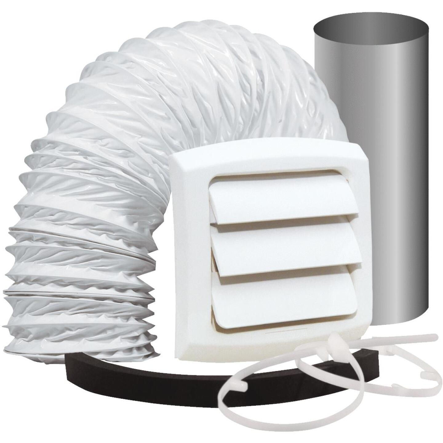 Dundas Jafine 3 In. to 4 In. Exhaust Bath Fan Vent Kit (5-Piece) Image 1