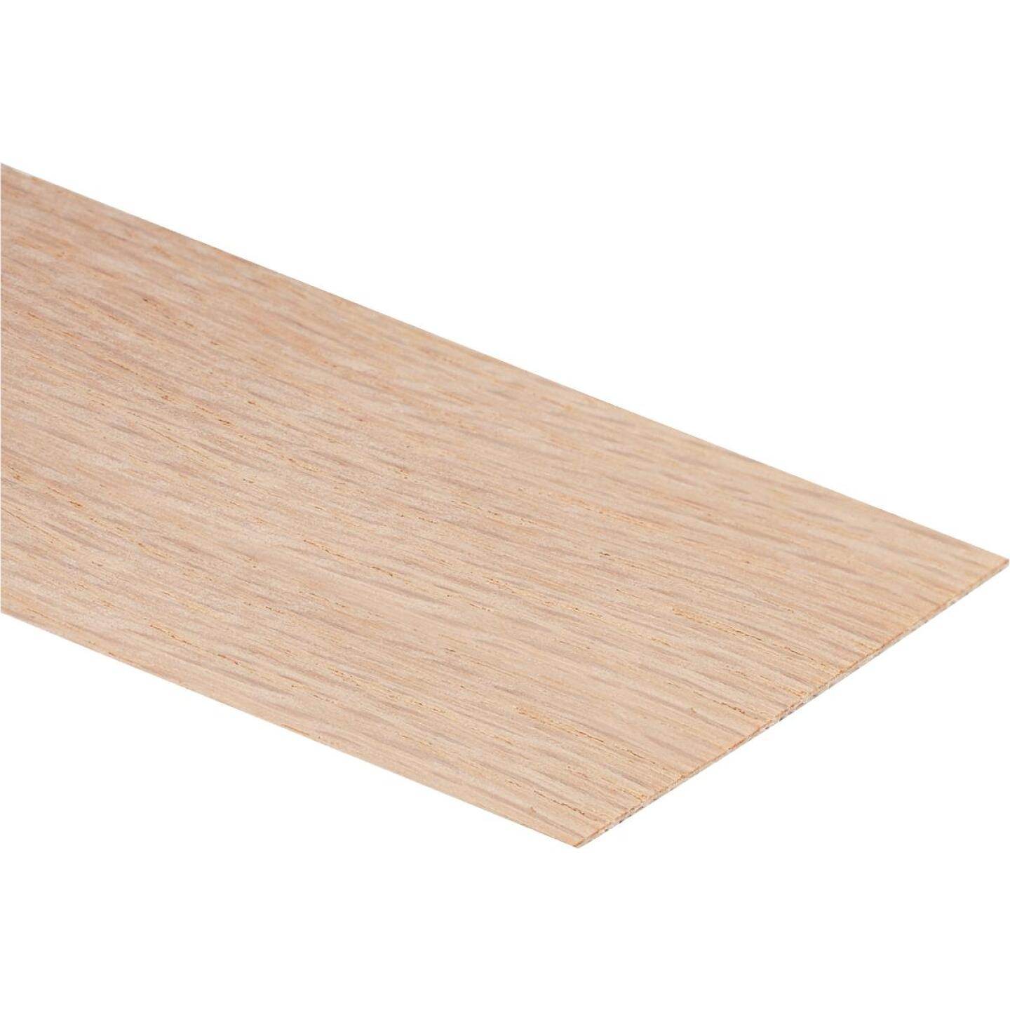 Cloverdale Band-It 2 In. x 8 Ft. Red Oak Wood Veneer Edging Image 1