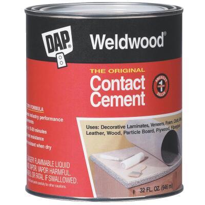DAP Weldwood Qt. Original Contact Cement
