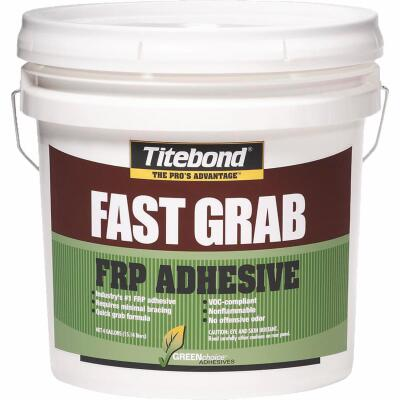 Titebond GREENchoice FAST GRAB 4 Gal. FRP Panel Adhesive