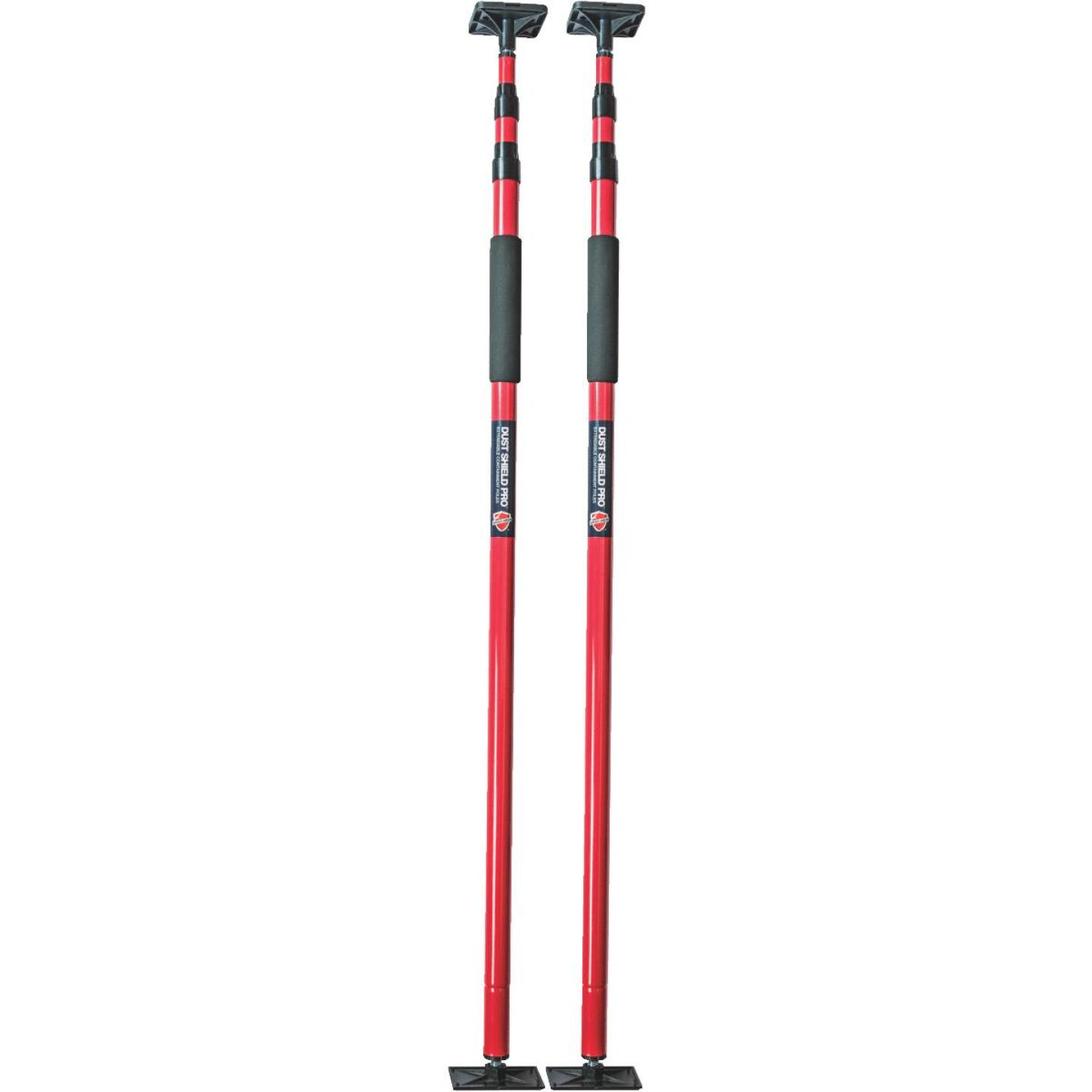 Surface Shields Adjustable Red Pro Poles Image 1