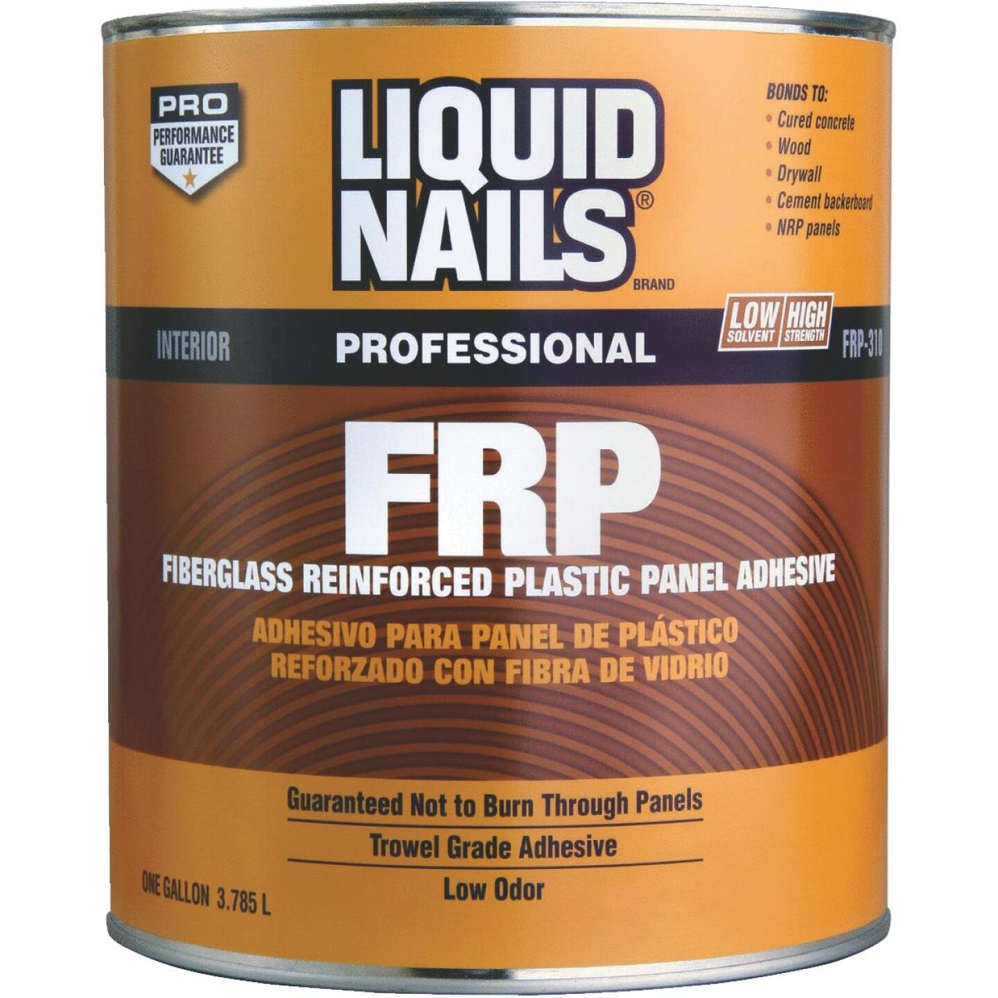 LIQUID NAILS 1 Gal. FRP Panel Adhesive Image 1