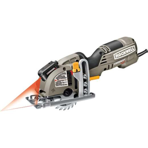 Rockwell Versacut 3-3/8 In. 4-Amp Mini Circular Saw