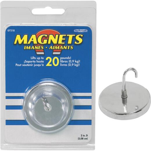 Master Magnetics 20 Lb. Magnetic 2 in. Handi-Hook