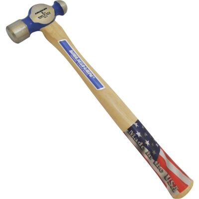 Vaughan 8 Oz. Steel Ball Peen Hammer with Hickory Handle
