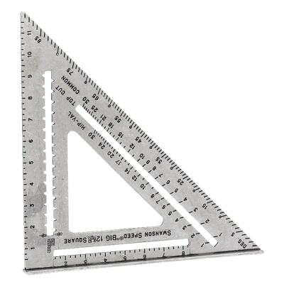 Swanson Big 12 Speed 12 In. Aluminum Rafter Square