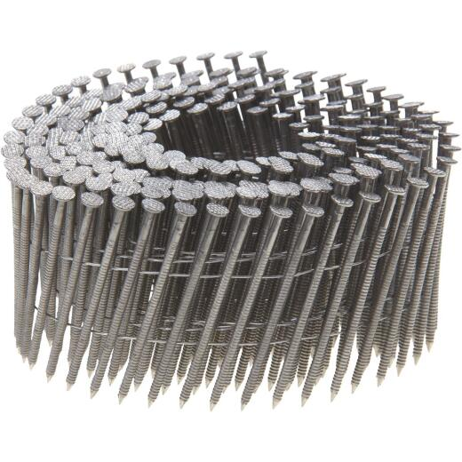 Grip-Rite PrimeGuard Max 15 Degree Wire Weld 304-Stainless Steel Coil Siding Nail, 1-3/4 In. x .090 In. (1200 Ct.)