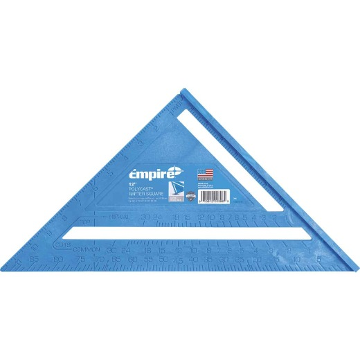 Empire 12 In. Plastic Polysquare Rafter Square