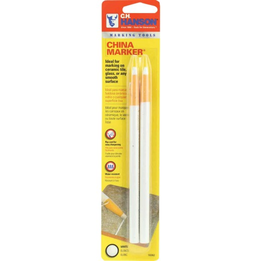 CH Hanson White China Marker (2-Pack)