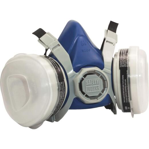 Safety Works OV/P95 Paint and Pesticide Respirator