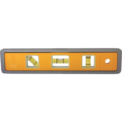 Johnson Level 9 In. Aluminum Magnetic Glo-View Torpedo Level