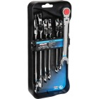 Channellock Metric 12-Point Flex Head Ratcheting Combination Wrench Set (7-Piece) Image 1