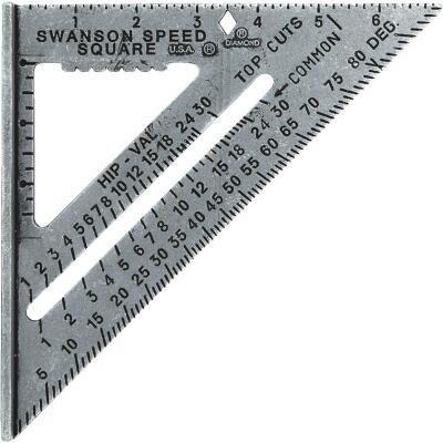 Swanson Speed 7-1/2 In. Aluminum Rafter Square