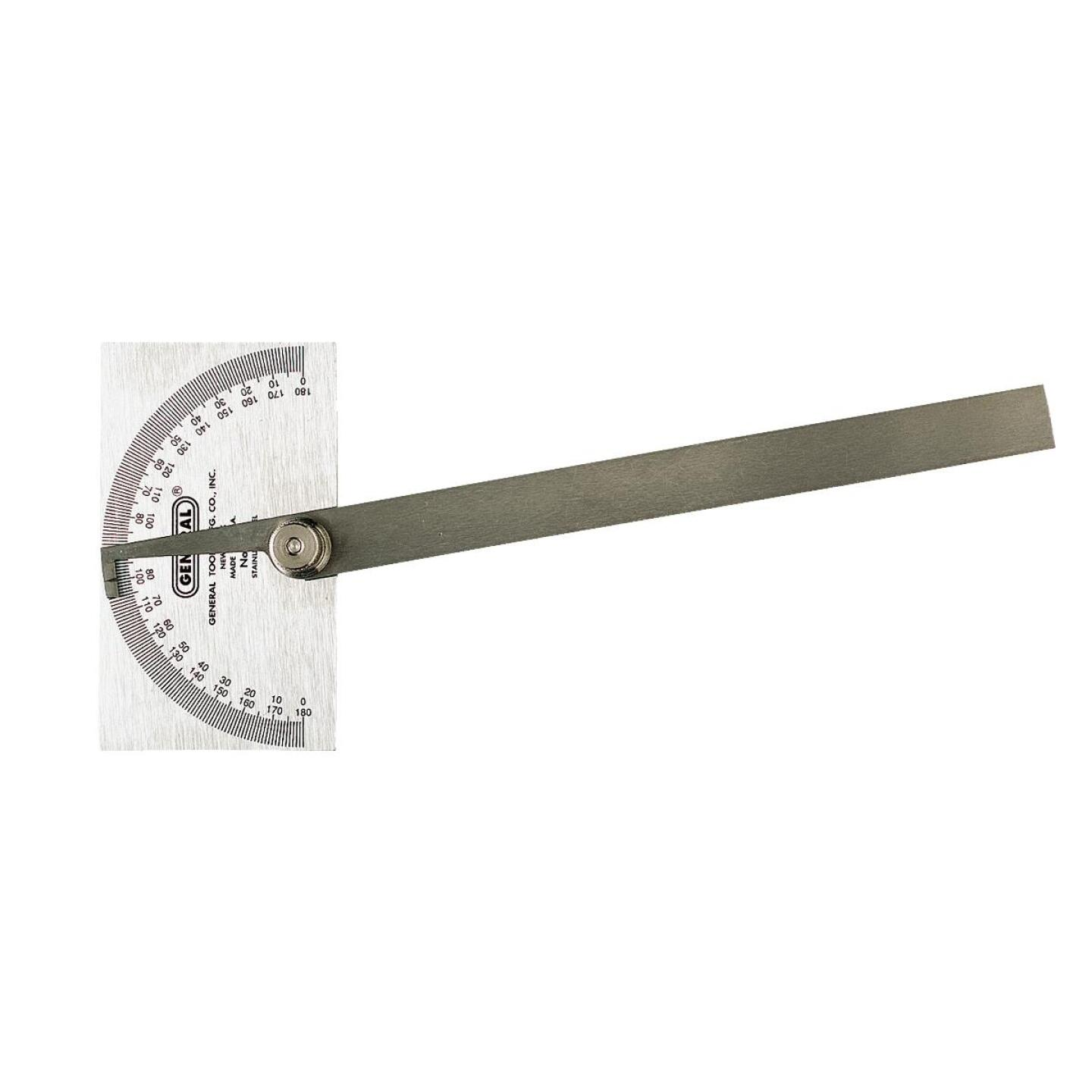 General Tools Steel Square Head Protractor Image 1