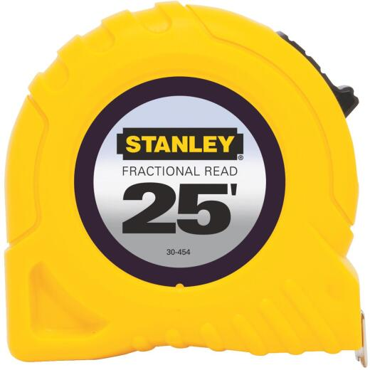 Stanley 25 Ft. Fractional Tape Measure