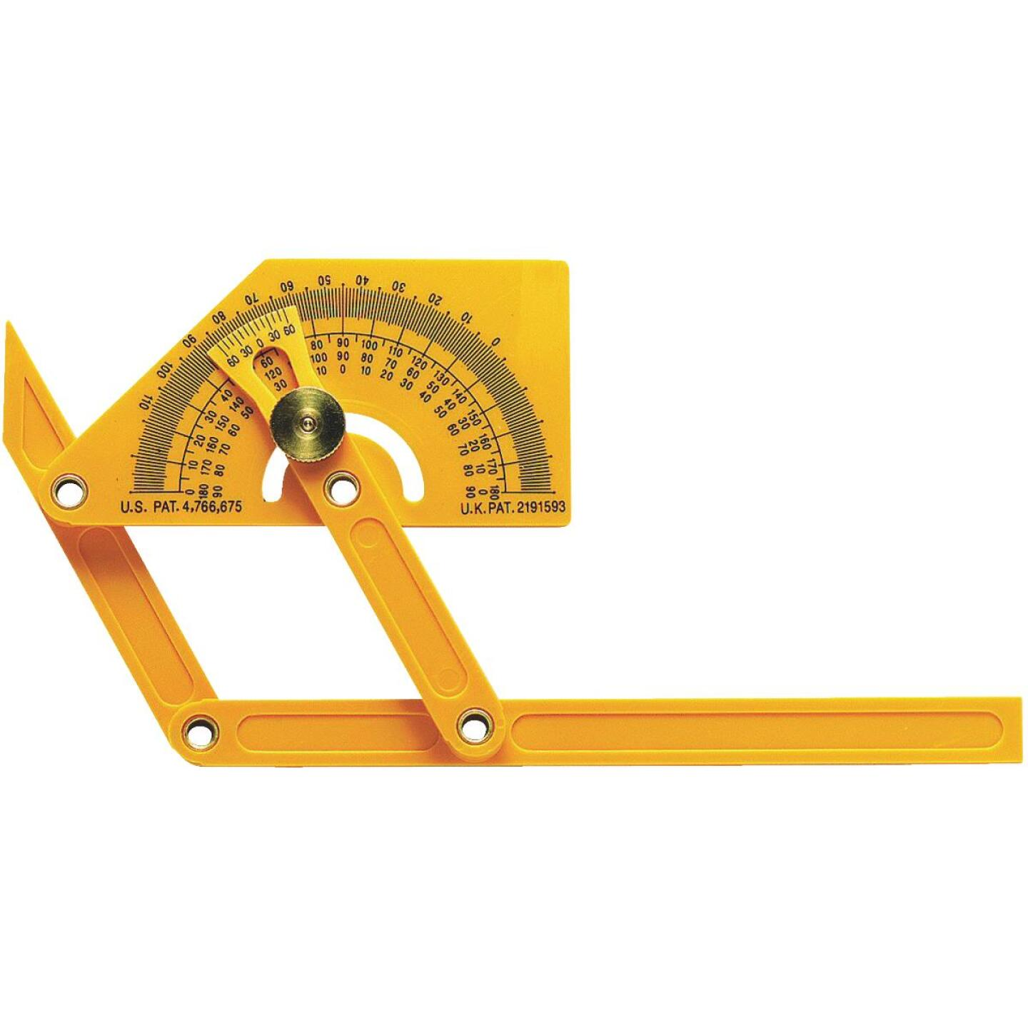 General Tools Plastic Protractor and Angle Finder Image 1