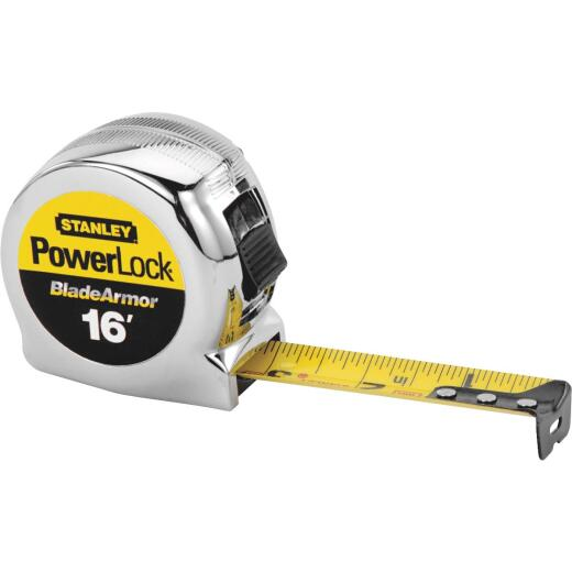 Stanley PowerLock 16 Ft. Tape Measure with BladeArmor