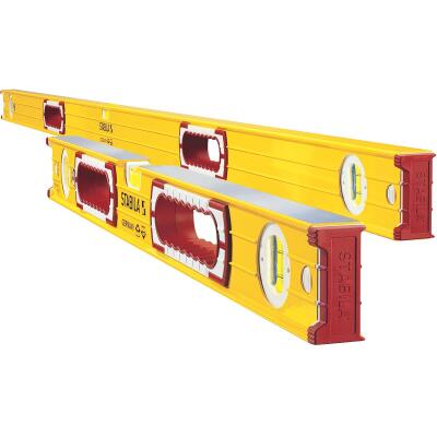Stabila 58 In. and 32 In. Aluminum Heavy-Duty Level Set