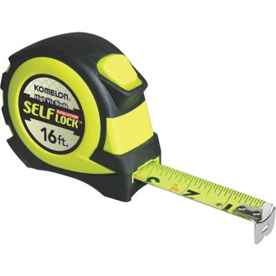 Komelon Evolution 16 Ft. Self-Lock Tape Measure