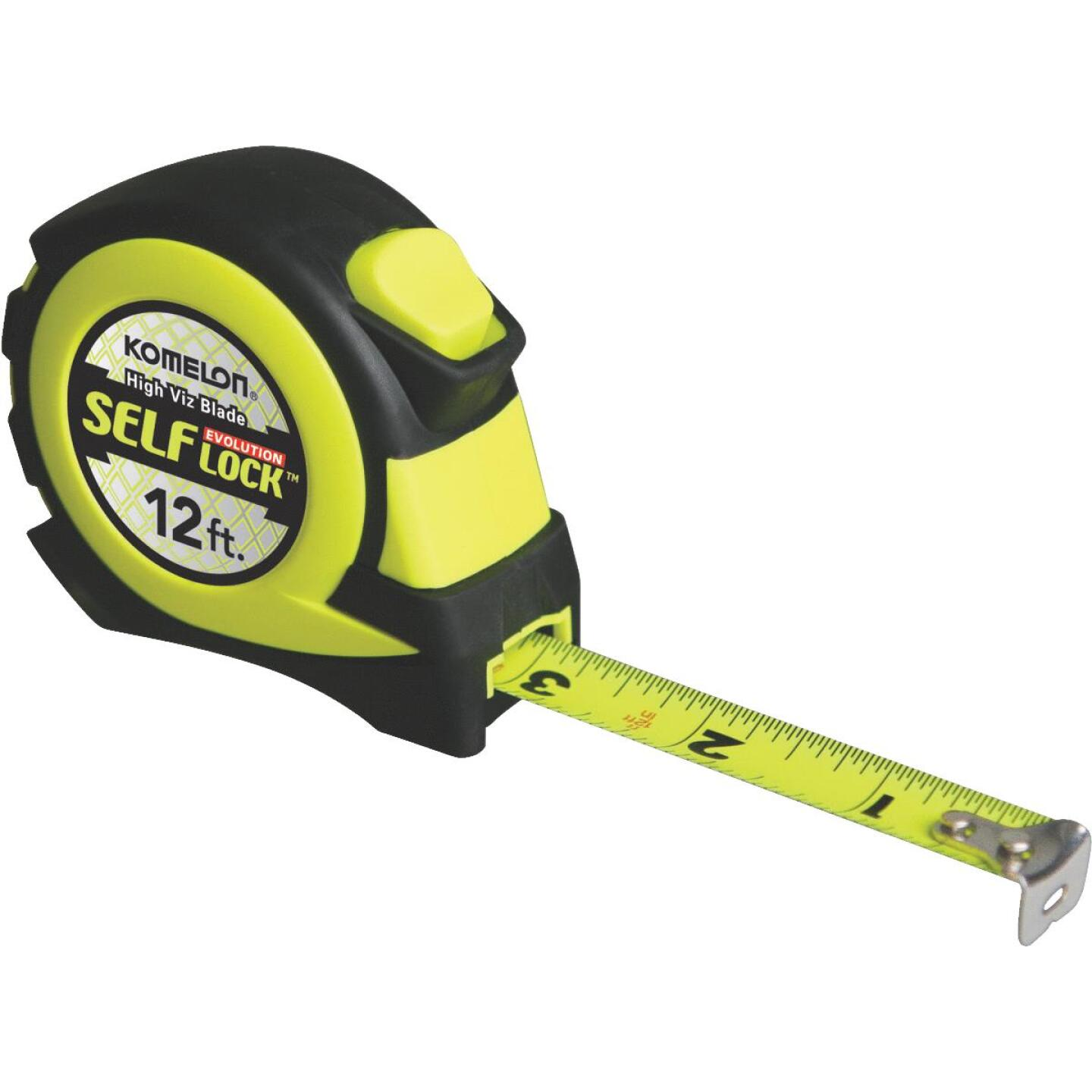 Komelon Evolution 12 Ft. Self-Lock Tape Measure Image 1