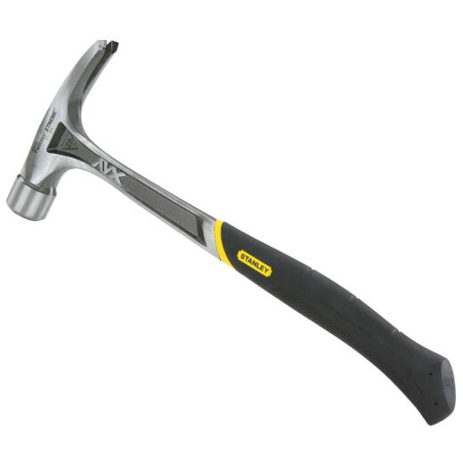 Stanley FatMax Anti-Vibe 22 Oz. Milled-Face Framing Hammer with Steel Handle