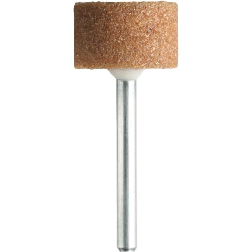 Dremel 5/8 In. 3/8 In. Aluminum Oxide Grinding Stone
