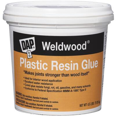 DAP Weldwood 4-1/2 Lb. Plastic Resin Glue