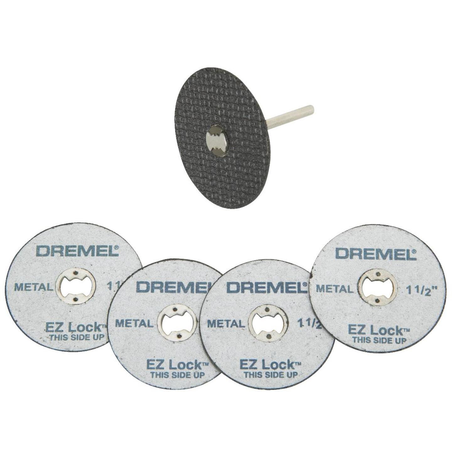 Dremel EZ Lock Mandrel and Cut-Off Wheel Starter Rotary Tool Accessory Kit (5-Piece) Image 1