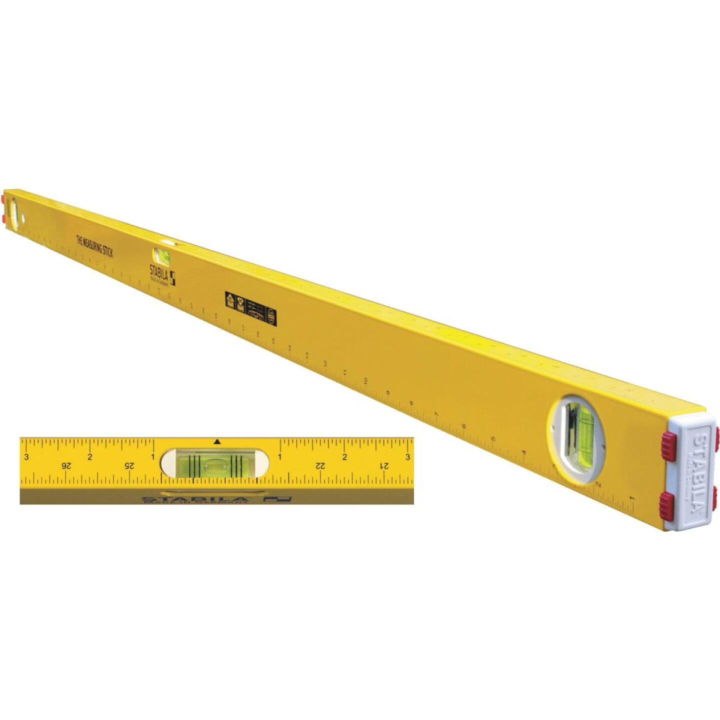 Stabila Measuring Stick 48 In. Aluminum Box Level Image 1