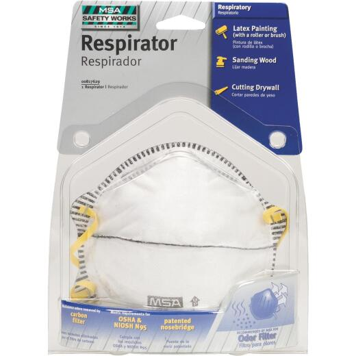 Safety Works N95 Harmful Dust Respirator with Odor Filter
