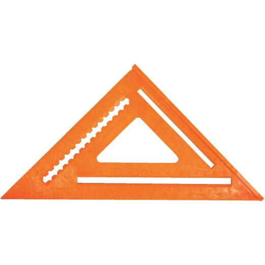 Johnson Level 7 In. Plastic Structo-Cast Rafter Square